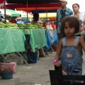 Childs perspective in the market