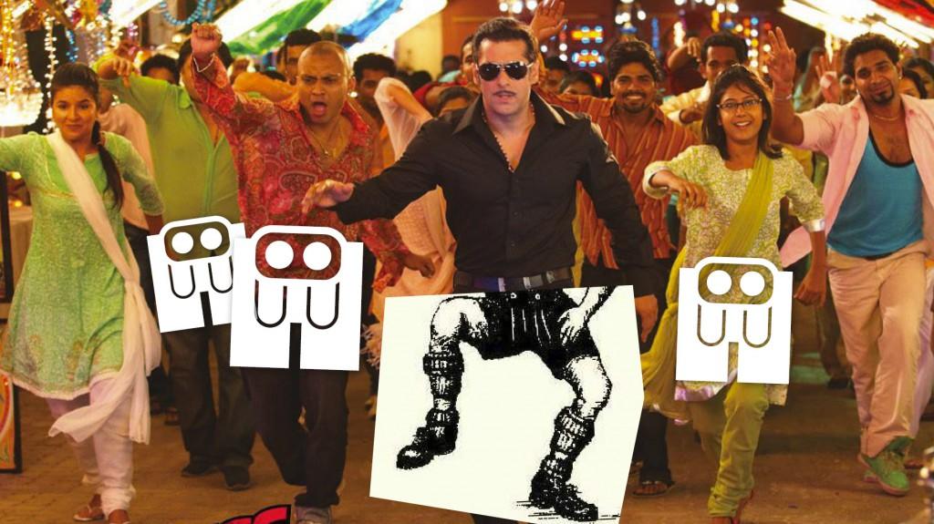 Lederhosen in Bollywood movie?