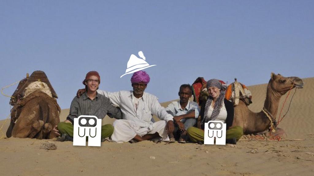 Lederhosen in the desert