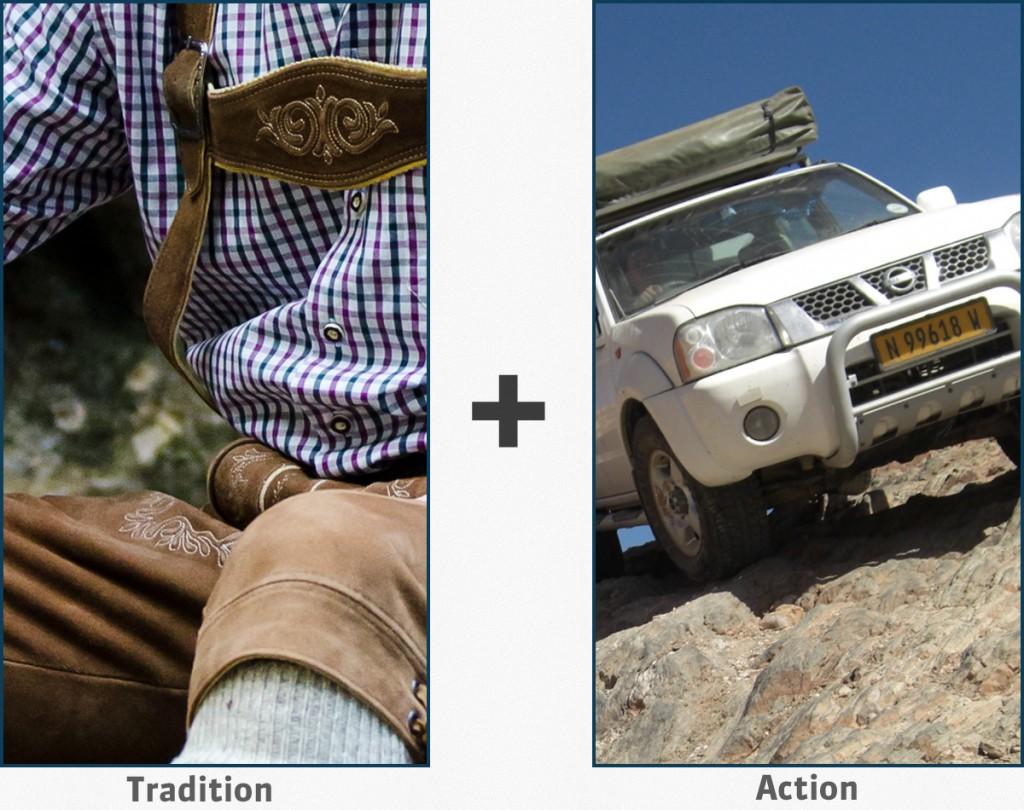Extreme Lederhosening = Tradition + Action